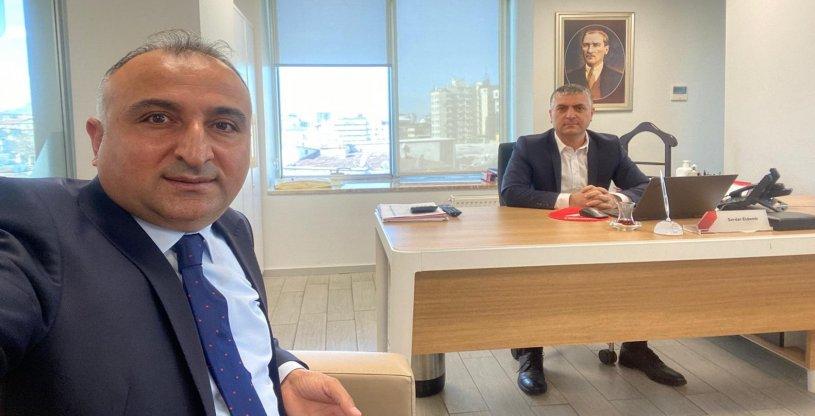 KAYSERİ ZİRAAT BANKASI BÖLGE BAŞKANI ZİYARET EDİLDİ
